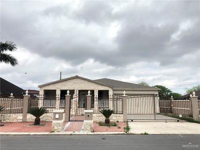 Pharr Single Family Home For Sale: 3204 S Bluebonnet Street