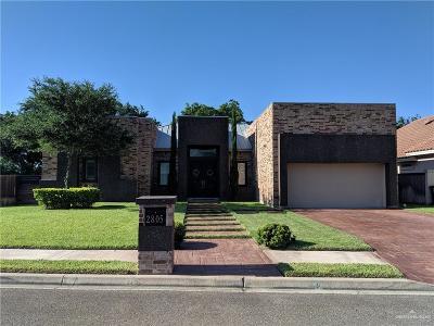 Mission Single Family Home For Sale: 2805 E Bluebonnet Lane