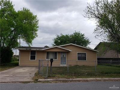 Pharr Single Family Home For Sale: 1012 W Lee Street