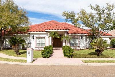 McAllen TX Single Family Home For Sale: $493,000