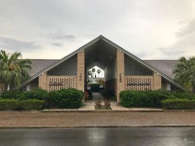 McAllen TX Condo/Townhouse For Sale: $108,000