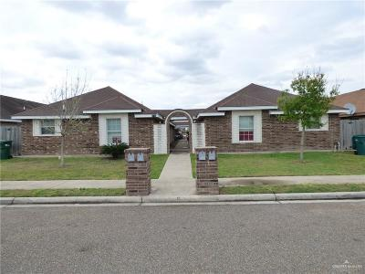 Pharr Multi Family Home For Sale: 3702 Wyndam Avenue