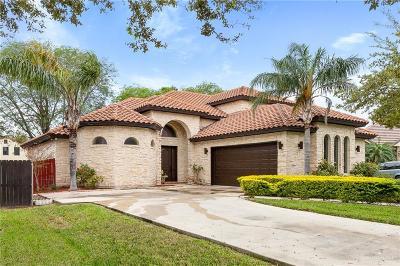 McAllen TX Single Family Home For Sale: $269,000