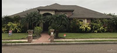 Pharr Single Family Home For Sale: 1202 N Regal Drive