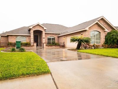 Pharr Single Family Home For Sale: 900 W Daffodil Avenue