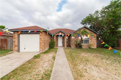 Pharr Single Family Home For Sale: 7421 S Morelos Street