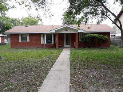 Cameron County Single Family Home For Sale: 1005 E Carrol Street