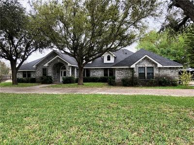 Weslaco Single Family Home For Sale: 1223 Tanglewood Lane