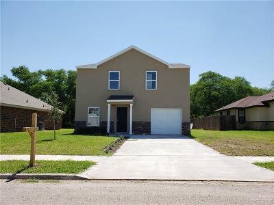 Mercedes Single Family Home For Sale: 410 Dyanez Street