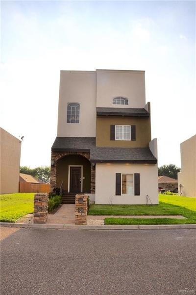 McAllen Condo/Townhouse For Sale: 6633 N 5th Street