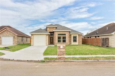 Pharr Single Family Home For Sale: 2604 Jonquil Lane