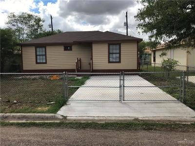 Mercedes Single Family Home For Sale: 1016 Jones Avenue