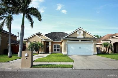McAllen Single Family Home For Sale: 4316 Date Palm Avenue