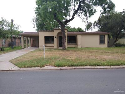 McAllen Single Family Home For Sale: 724 La Vista Avenue
