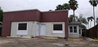 Pharr Commercial For Sale: 318 W Sam Houston Boulevard