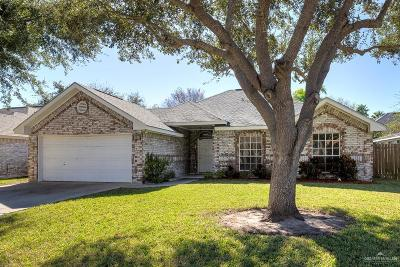 McAllen TX Single Family Home For Sale: $179,900