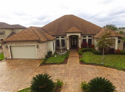Edinburg Single Family Home For Sale: 2419 Flipper Drive