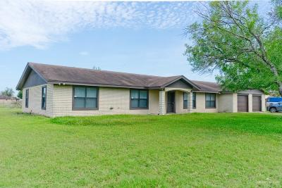 Edinburg Single Family Home For Sale: 1705 N Alamo Road