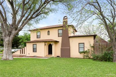Mission Single Family Home For Sale: 3008 N Shary Road