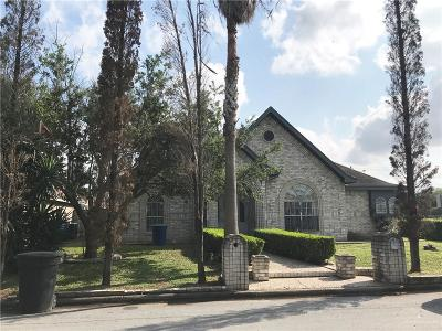 McAllen Single Family Home For Sale: 400 E Water Lilly Avenue
