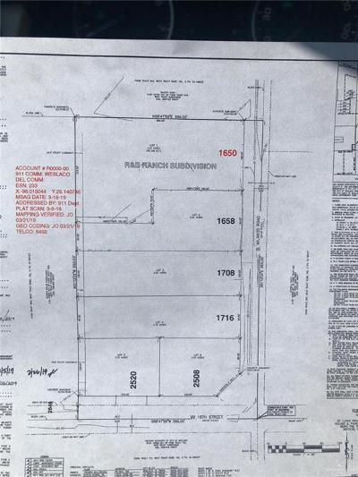 Weslaco Residential Lots & Land For Sale: 1716 S Milanos Road