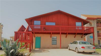 South Padre Island Multi Family Home For Sale: 127 E Cora Lee Drive