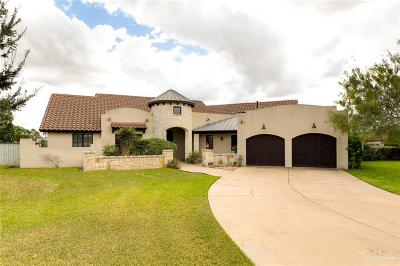 Pharr Single Family Home For Sale: 1803 S Dominique Drive