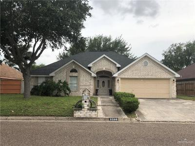 Mission Single Family Home For Sale: 2300 Nicole Drive