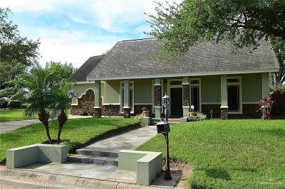 Weslaco Single Family Home For Sale: 616 W Merida Street