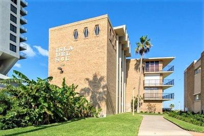 South Padre Island Condo/Townhouse For Sale: 600 Padre Boulevard #A-201