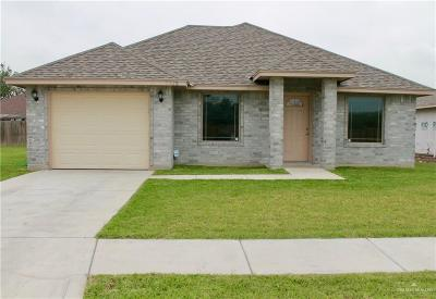 Brownsville Single Family Home For Sale: 7709 Palm Grove Drive