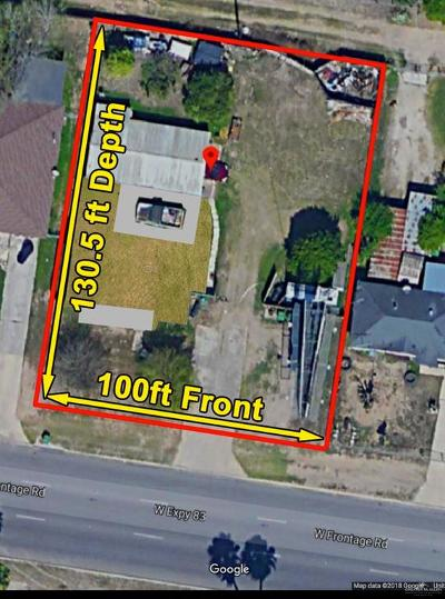 Alamo Residential Lots & Land For Sale: 1206 W Frontage Road