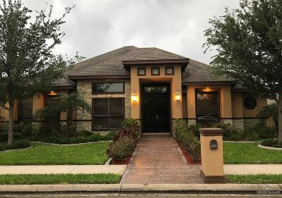 Pharr Single Family Home For Sale: 1205 Grosbeak Drive