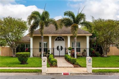 McAllen Single Family Home For Sale: 3208 Wisteria Avenue