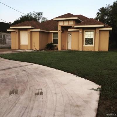 Edinburg Single Family Home For Sale: 907 S Veterans Boulevard