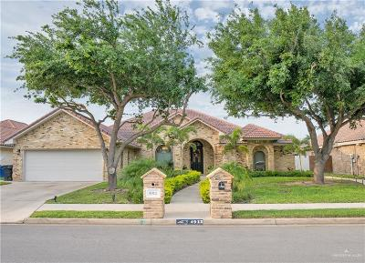 McAllen Single Family Home For Sale: 4912 Quince Avenue