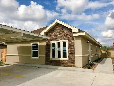 Edinburg Multi Family Home For Sale: 3801 Tinsley Avenue
