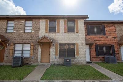 Pharr Condo/Townhouse For Sale: 2201 Jackson Street