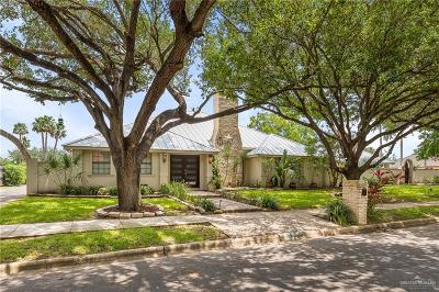 McAllen Single Family Home For Sale: 5400 N 3rd Street