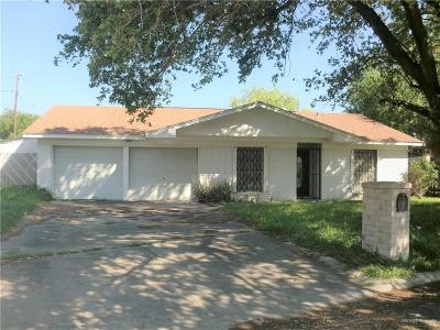 McAllen Single Family Home For Sale: 2409 N 25th Street