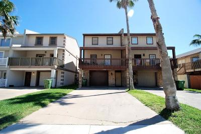 South Padre Island Condo/Townhouse For Sale: 127 E Hibiscus Street #B