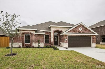 Weslaco Single Family Home For Sale: 2307 W Water Willow Drive