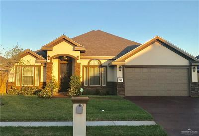 McAllen Single Family Home For Sale: 9512 N 17th Street