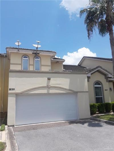 McAllen Condo/Townhouse For Sale: 800 Sunset Drive #B8
