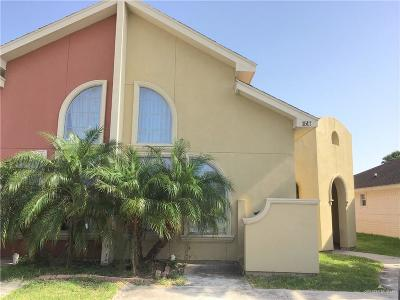 Pharr Condo/Townhouse For Sale: 1517 New Orleans Circle