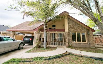 Pharr Single Family Home For Sale: 4201 N Palm Drive