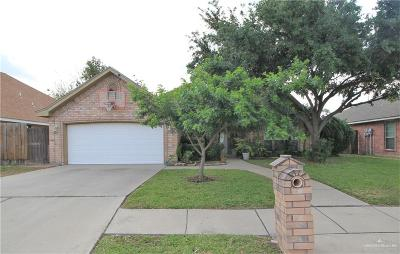 McAllen Single Family Home For Sale: 4906 N 24th Lane