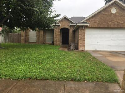 McAllen Single Family Home For Sale: 4601 Kendlewood Avenue