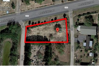 Cameron County Residential Lots & Land For Sale: 37480 Marshall Hutts Road