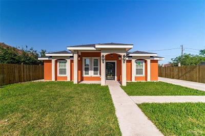 Pharr Single Family Home For Sale: 6900 S Naranja Lane